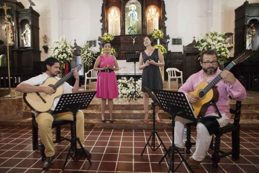 A Cuatro Voces - Festival Internacional de Guitarra de Cartagena - Festiguitarras